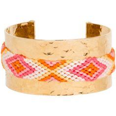Mercedes Salazar Wayuu Cuff @Layla Grayce #laylagrayce #fashion #jewelry