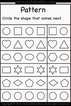 Worksheetfun - Loads of FREE PRINTABLE WORKSHEETS for preschool (letters, tracing, numbers etc) and older (math and grammer). Description from pinterest.com. I searched for this on bing.com/images