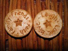 Cinnamon Vanilla Primitive Wax Melts  Live by clarkscreekcandles, $4.00