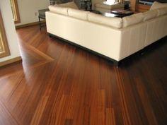 Sapele Flooring Room Scene