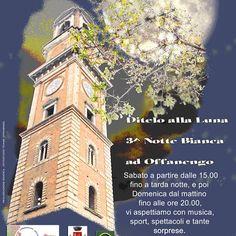 3^Notte bianca DITELO ALLA LUNA ad Offanengo vi aspetto per presentrvi le ultime offerte e gustarci insieme un grande #caffè naturalmente #chiccodoro #caffitaly
