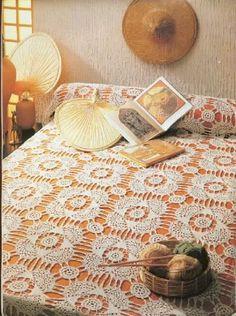 Bed sheets - Crochet Knitting Handicraft