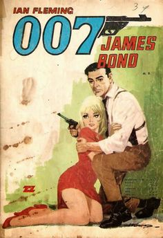 Illustrated 007 - the art of james bond sean connery, casino royale, manife James Bond Books, James Bond Movies, Sean Connery, Casino Royale, Indiana Jones, Bond Girls, Comic Covers, Book Covers, Pulp Art