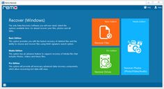 Remo Recover - Pro Edition (Size 15 MB): Remo Recover (Windows) Pro edition is an easy to use software to recover data from crashed hard drive or lost, deleted, formatted partition.