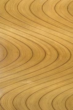 Another Tapio Wirkkala table, detail Shape Patterns, Textures Patterns, Plywood Art, Old Furniture, Wooden House, Wood Texture, Ceramic Artists, Scandinavian Design, Stoneware