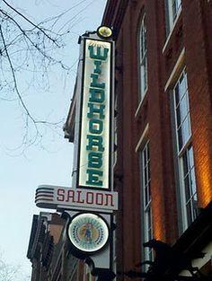 The famous Wildhorse Saloon, Nashville, TN