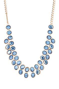 Reversible 2 Row Stone Necklace