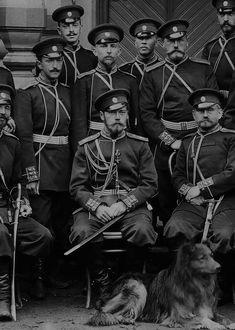 Nicholas II, Emperor of Russia and his Collie, Romanov Czar Nicolau Ii, Adele, National History Day, Mode Russe, The Bolsheviks, House Of Romanov, Russian Literature, Tsar Nicholas Ii, Rasputin