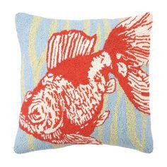Goldfish Pillow.