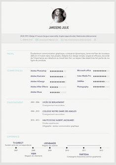 10 stunning creative cv examples that strike the perfect balance - Resume Cv Sample