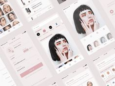 Abstracts — An Interview with Zhenya Rynzhuk – Muzli -Design Inspiration App Design, Branding Design, Logo Design, Graphic Design, Ui Inspiration, Creative Inspiration, Android Gif, Candy App, App Background