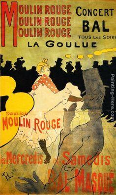 Henri De Toulouse-Lautrec Famous Paintings | henri de toulouse-lautrec famous paintings for sale | henri de ...