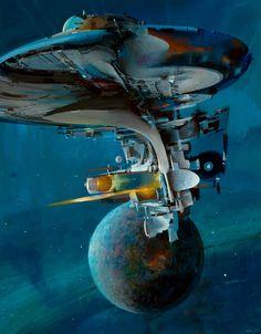 Enterprise (Illustrator John Berkey)