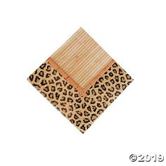 Our Paradise Safari Beverage Napkins add a touch of leopard print glam to your party supplies! Jazz up your party table decorations with these trendy . Leopard Print Party, Animal Print Party, Birthday Party Menu, 5th Birthday, Cheetah Birthday, Safari Theme Party, Jungle Party, Jungle Safari, Animal Snacks