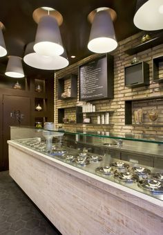 Gelateria Da Re, Rome, Italy designed by Andrea Lupacchini