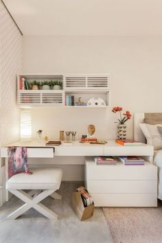 Top 10 Stunning Home Office Design - Site Home Design Home Bedroom, Bedroom Decor, Bedrooms, Bedroom Ideas, Wc Decoration, Decorations, Sweet Home, Interior Decorating, Interior Design