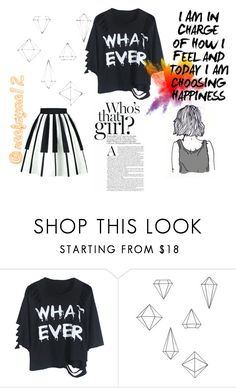 """""""what.ever"""" by toscarendezvous on Polyvore featuring Umbra, monochrome, simple and piano"""