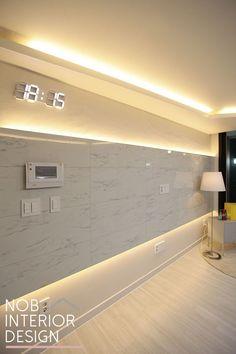 1번째 이미지 Interior Design Living Room, Living Room Designs, Living Room Decor, Tv Wall Design, House Design, Urban Decor, False Ceiling Design, Model Homes, Office Interiors