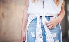 Como montar looks estilosos e modernos com saia jeans - Dicas de Mulher