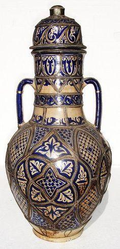 Резултат с изображение за moroccan vases