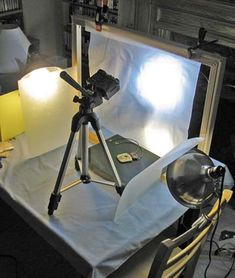easy to create special photo lighting setup by Desiree's Desired Creations. Wealth of information on her site