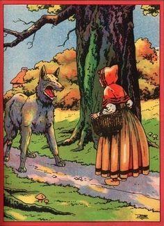 Little Red Riding Hood Illustration ????