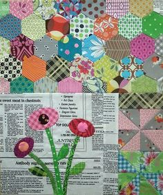 Green Tea and Sweet Beans, done by Cecile. Pattern by Jen Kingwell.