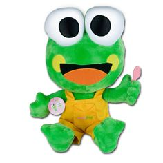 Sweet Frog boy plush toy-this is what Milo wants for his birthday!