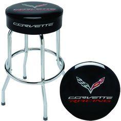 C7 Corvette Racing Counter Stool