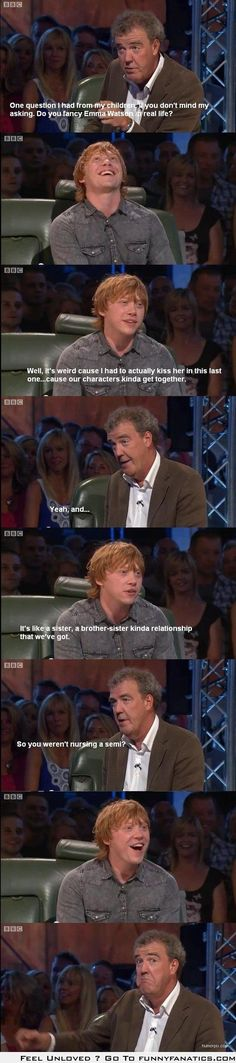 rupert grint on Pinterest | Ron Weasley, Ron And Hermione ...