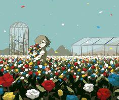 極彩の庭 Garden of vivid colors