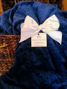 Navy Blue Adult Minky Blanket Name Embroidery * PERSONALIZED * Teen Minky Blanket College Dorm Bedding Christmas Gift For Dad and Mom Tween by BundleMeBaby on Etsy https://www.etsy.com/listing/224454338/navy-blue-adult-minky-blanket-name
