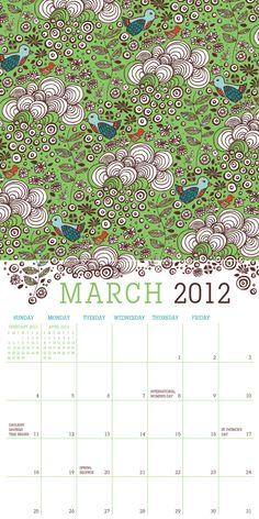 Birds in Hiding, March 2012