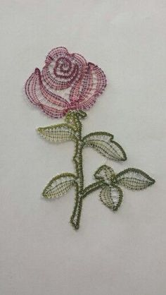 Pattern by Irma Pervanja, work done by Sara Rehar. Hairpin Lace Crochet, Crochet Motif, Crochet Edgings, Crochet Shawl, Bobbin Lace Patterns, Bead Loom Patterns, Bobbin Lacemaking, Point Lace, Irish Lace