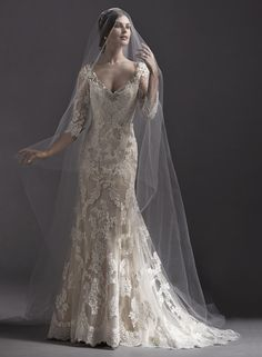 Annora gown from the 2015 Sottero & Midgley collection, as seen on Bride.Canada