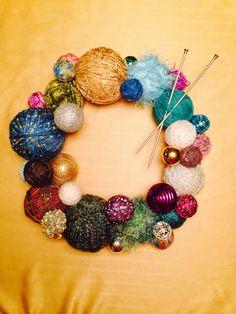 Yarn Wreath