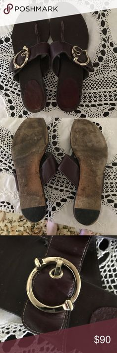 Vintage Gucci Thong Sandals Well cared for Vintage Gucci Sandals. A lot of life left in these sweet shoes!! Gucci Shoes Sandals