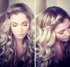 Cara Loren hair twist