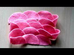 Pompon Bordure feutre velours Nylon Serre-tête nœud tissu Photo Prop Hair Bow
