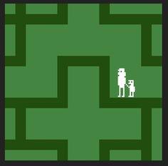 The Shining as a Retro Atari Game - Neatorama