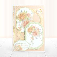 Pearl Bouquet is an all occasions card making collection printed onto an uncoated Matt-tastic cardstock that can be stamped and coloured onto. The kit features large Pearlescent Foil that gives a lovely, shimmery, pearl finish. Pearl Bouquet, Hunkydory Crafts, Card Stock, Hunky Dory, Card Making, Bloom, Paper Crafts, Texture, Pearls