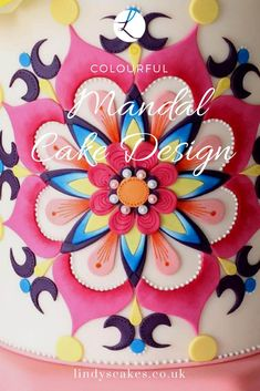 I loved creating this mandala cake design for Cake Decoration and Sugarcraft magazine. Here is a behind the scenes look at my brief and my inspiration Buttercream Cake, Fondant Cakes, Cupcake Tutorial, Birthday Cakes For Women, Mandala Coloring, Cake Art, Cake Cookies, How To Make Cake, Cake Designs