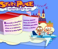 Children's digital stories in Spanish Spanish Teacher, Spanish Classroom, Teaching Spanish, Second Grade Bilingual, Learn Espanol, Reading Sites, Spanish Website, Dual Language Classroom, Elementary Spanish