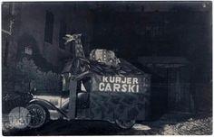 Krakowski reklamobil kina Uciecha