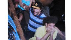 Robin Lopez Seems Very Chill About Riding Splash Mountain - The Triangle Blog - Grantland