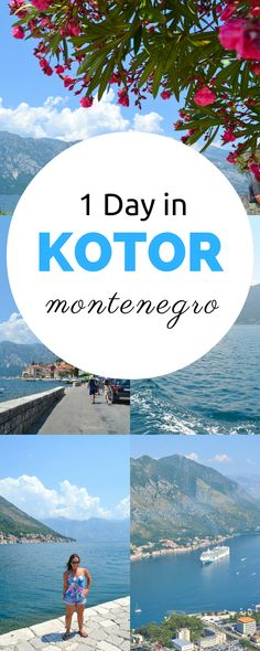 Headed to Montenegro?  Here's how to spend just one day in Kotor, Montenegro, whether you're arriving via cruise ship or taking a day trip from Dubrovnik.  I promise this tiny city will amaze you.