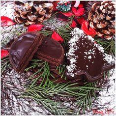 Honey CaFe: Çikolatalı Naneli Kurabiye