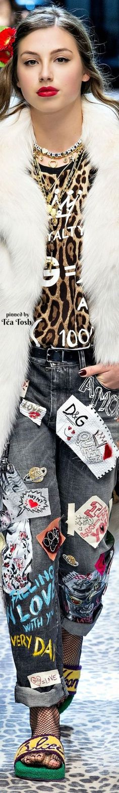 ❇Téa Tosh❇ Dolce & Gabbana, Fall 2017, Ready-to-Wear Collection