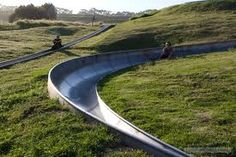 Cool Running Tobogganing is Africa's only toboggan track, but there are over 300 others across the world! Imagine a Swizz Alp covered in snow with a toboggan whizzing down it. Stuff To Do, Things To Do, Cool Stuff, Cape Town Accommodation, Best Hospitals, Cape Town South Africa, Good Times, Countryside, Running