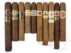 Hillside Drive Sampler Various Sized Cigars—10 Cigars - Best Cigar Prices